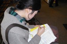 杭州读者现场捐书