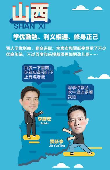 想创业?先看看你的出生地再决定!中国互联网大佬出生地图鉴!