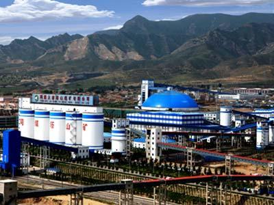 同煤集团塔山循环经济园区鸟瞰图