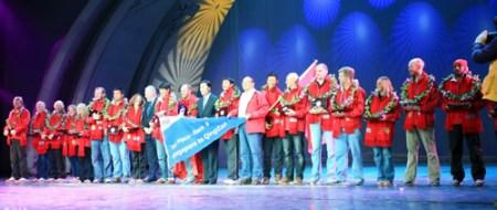 克利伯环球帆船赛青岛站举行颁奖仪式