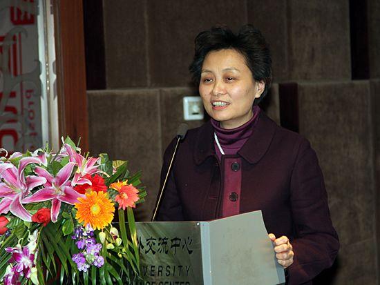 北京大学文化产业研究院研究员王筱芸(图片来源:新浪财经 梁斌 摄)