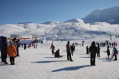阿勒泰滑雪节。