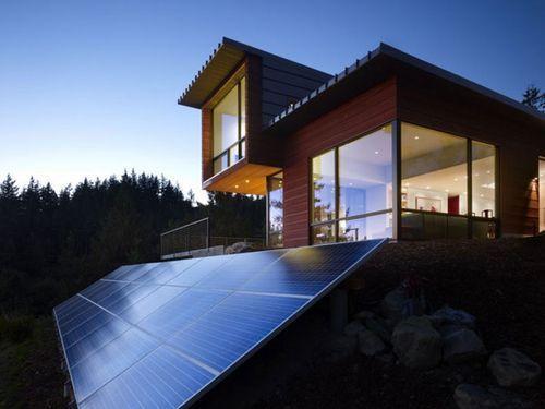 华盛顿设计师Prentiss 设计的Chuckanut Ridge House