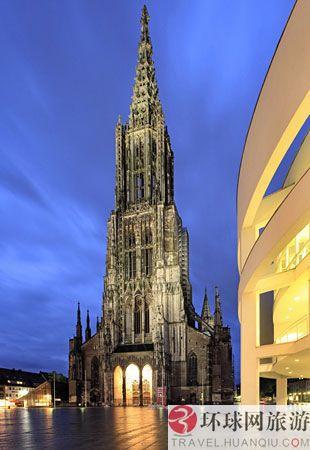 世界上最高的教堂:德国,乌尔姆