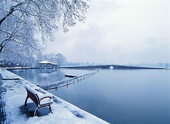 断桥残雪 于广明摄