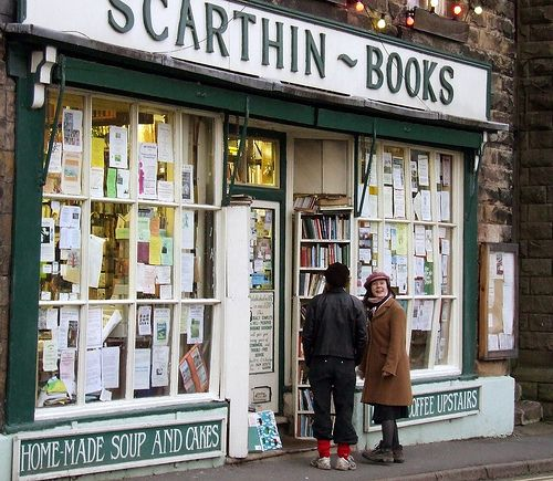 英国剑桥山峰国家公园:斯卡廷书店