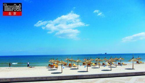 美丽海滩,让你想不到这就是非洲