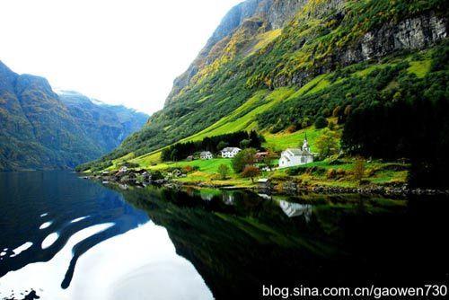 挪威峡湾风光 摄影:墨墨