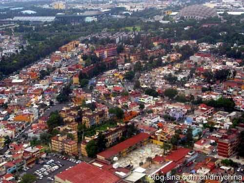 航拍墨西哥城 摄影:ARGENTA