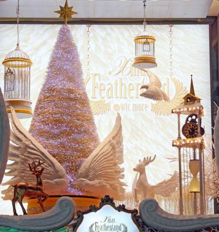 羽毛圣诞树