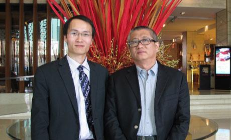 新浪基金研究中心庄正与博弘数君总经理刘宏