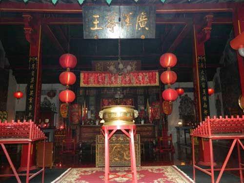 保安庙供奉的是广泽尊王。(陈冬龙 摄)