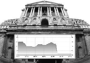 英国央行自2009年4月以来一直维持0.5%利率水平不变。新华社图片 合成/王力