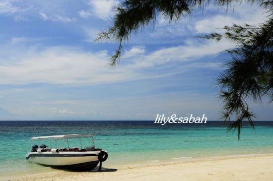 美人鱼岛海景