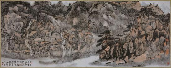 赖少其的 《梦游黄山》 成交价1725万元