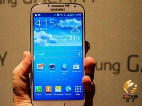 广受市场追捧的三星智能手机