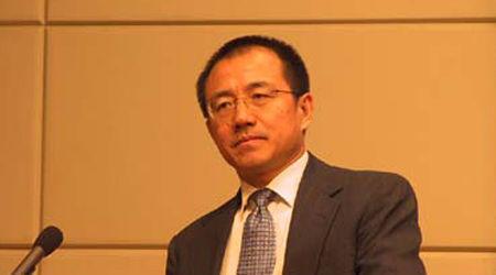 图为中投公司原总经理高西庆。(资料图)