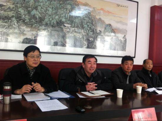 天水市政府节会办公室主任张小平及相关委办局领导