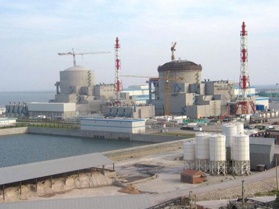 江苏田湾核电站全景