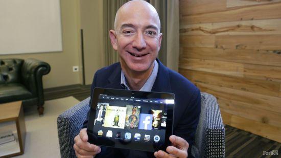 亚马逊3D手机传闻让贝索斯身家一夜猛增14亿
