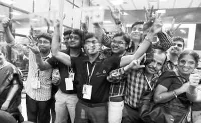 印度成功探索火星