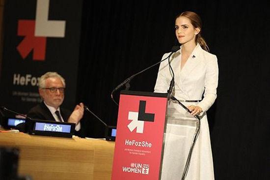 艾玛・沃特森联合国演讲:谈性别歧视。