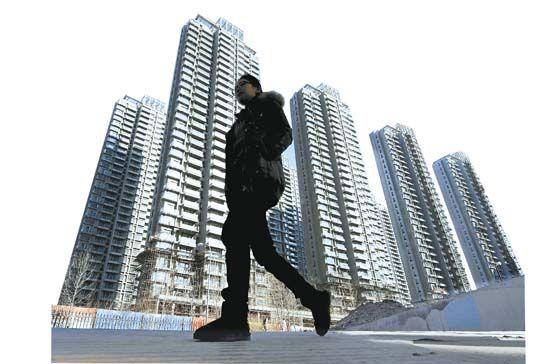 中国楼市有着惊人的库存。