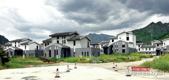 8 月11 日,五台山国际度假酒店别墅。《中国经济周刊》记者 韩文/摄