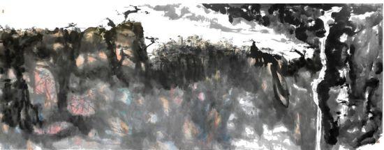 偌宾的山水画作品