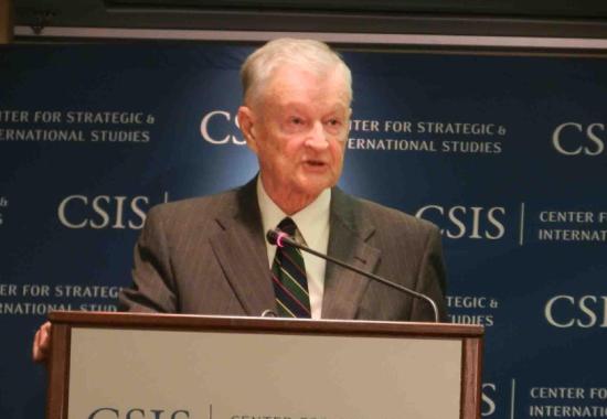 美国知名地缘政治学者布热津斯基