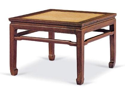 黄花梨有束腰罗锅枨禅凳