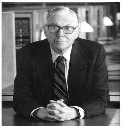 美国投资家,沃伦-巴菲特的黄金搭档查理-芒格