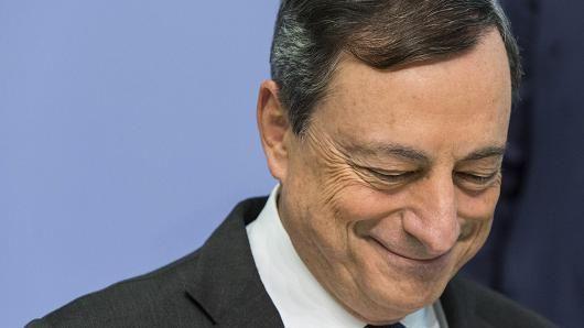 欧洲央行行长德拉吉