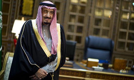 资料图:今年新继位的沙特国王萨勒曼-本-阿卜杜勒-阿齐兹