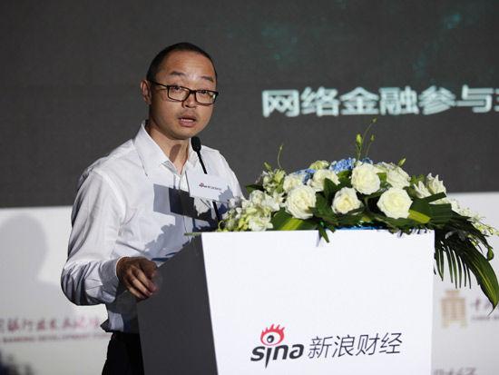 南京银行电子银行部总经理陈瞰