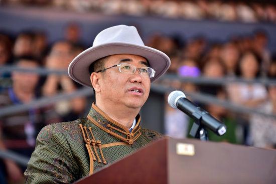 内蒙古自治区旅游局局长魏国楠致辞