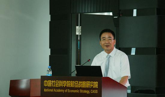 中国社会科学院财经战略研究院副研究员刘彦平