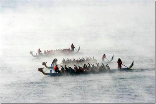 冬季龙舟赛