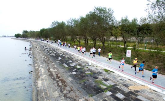 历届洪泽湖马拉松比赛