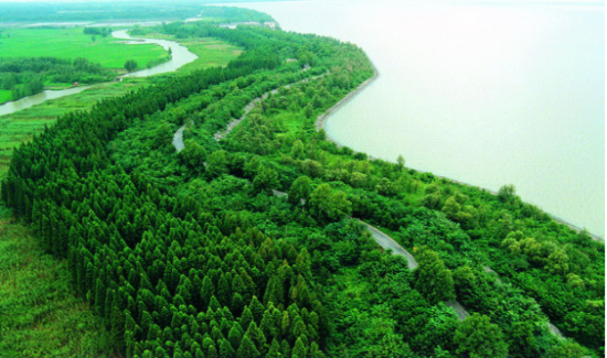 洪泽湖风光