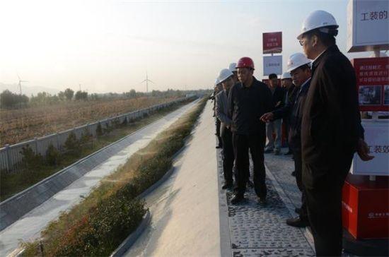 刘宝龙书记陪同铁总王峰司长 到中铁三局京张六标项目检查调研