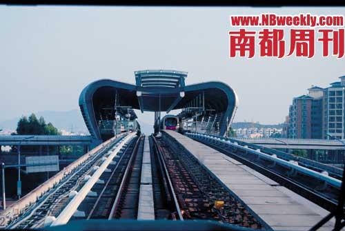广州地铁五号线的诞生