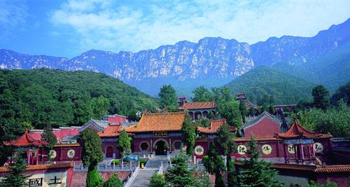 中国最早佛教寺院之一:法王寺(组图)
