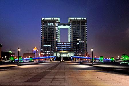 吴江城市夜景