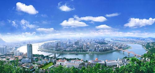 龙城柳州:山清水秀地干净(图)