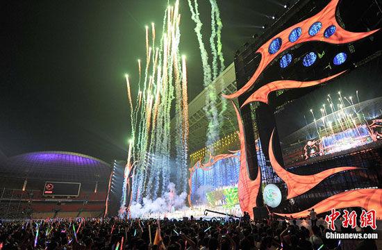 第13届南宁民歌节开幕晚会10月21日晚盛大举行