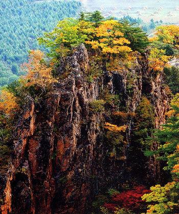 吉林市候选景区:拉法山国家森林公园(组图)