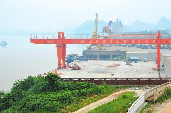 柳州鹧鸪江码头年吞吐量将达240万吨(图)