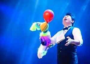 魔术大会开幕观众大呼过瘾
