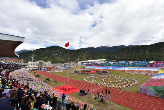 2015年西藏林芝雅鲁藏布生态文化旅游节隆重开幕